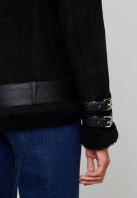Maze - JEAN - Leather jacket - black - 3
