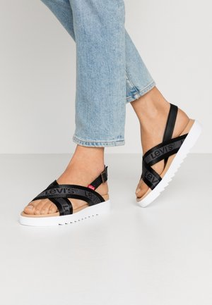 PERSIA - Sandals - regular black