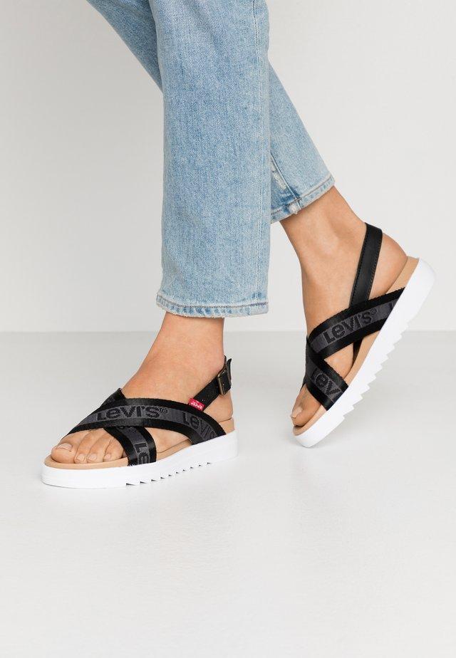 PERSIA - Sandals - regular black