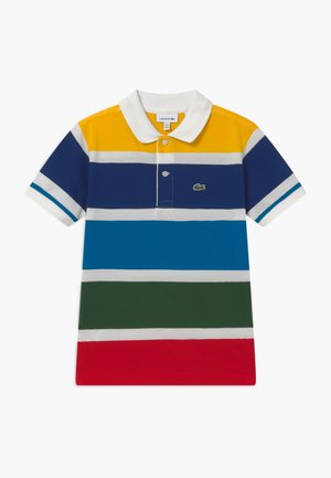 Polo shirt - farine/multicolor