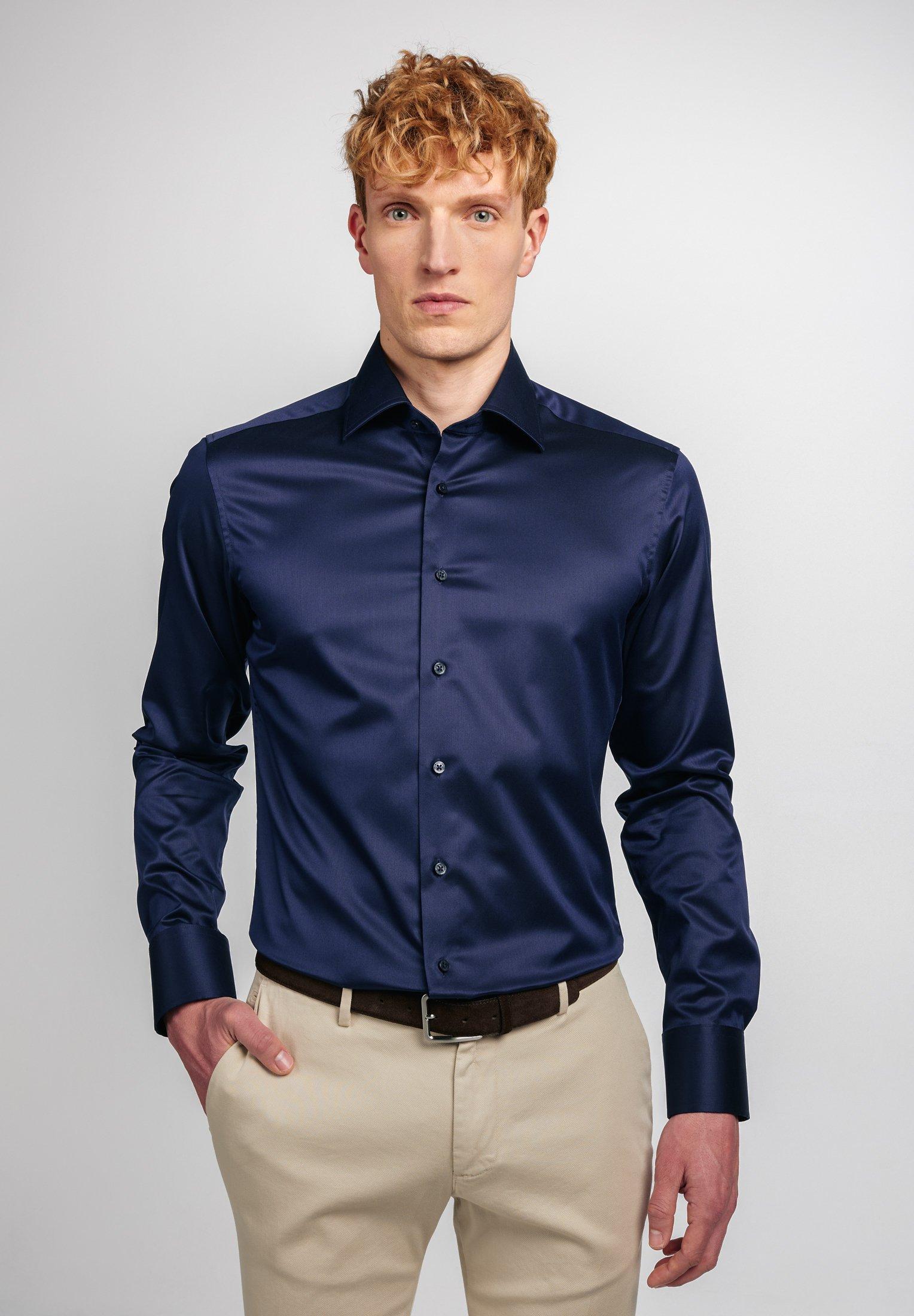 Herren LANGARM  SLIM FIT - Businesshemd