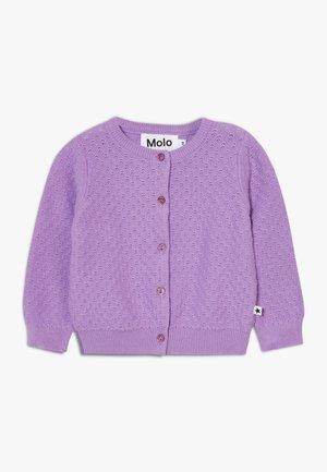 GINNY - Chaqueta de punto - manga purple