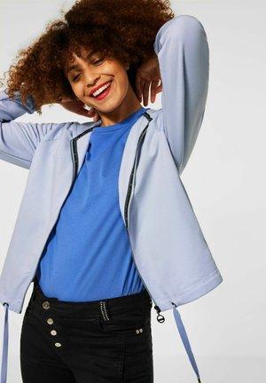 Sweater met rits - blau