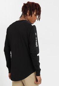 G-Star - SWANDO ART RELAXED  - Langærmede T-shirts - dark black - 2