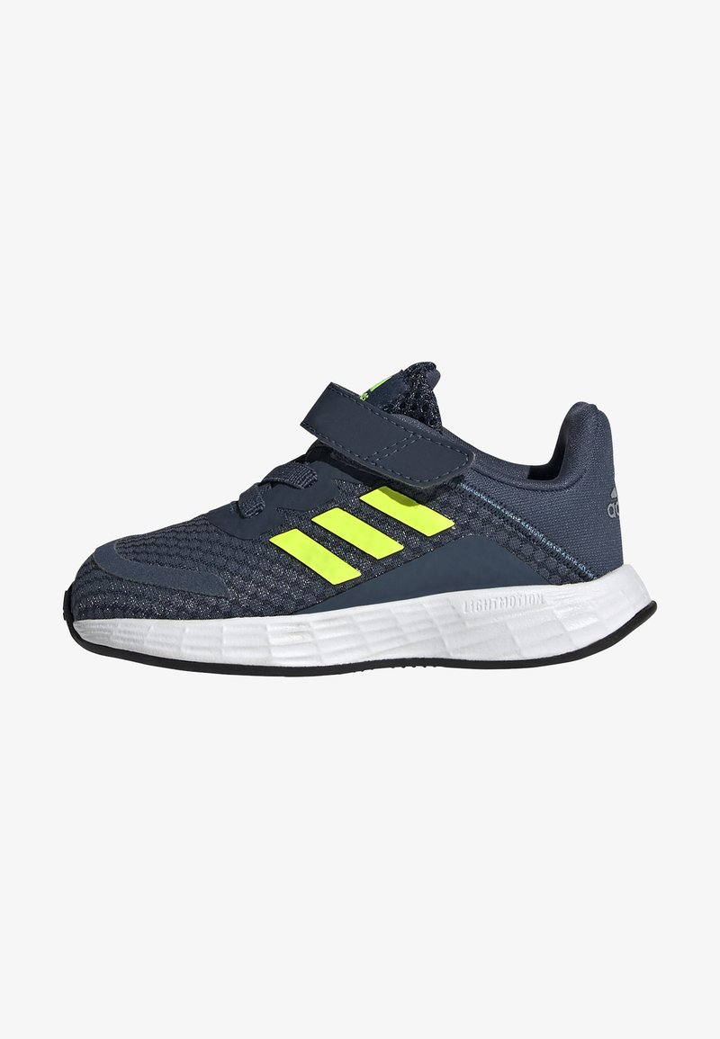 adidas Performance - DURAMO SL SHOES - Sports shoes - crew navy/solar yellow/halo silver