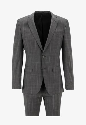 Suit - open grey