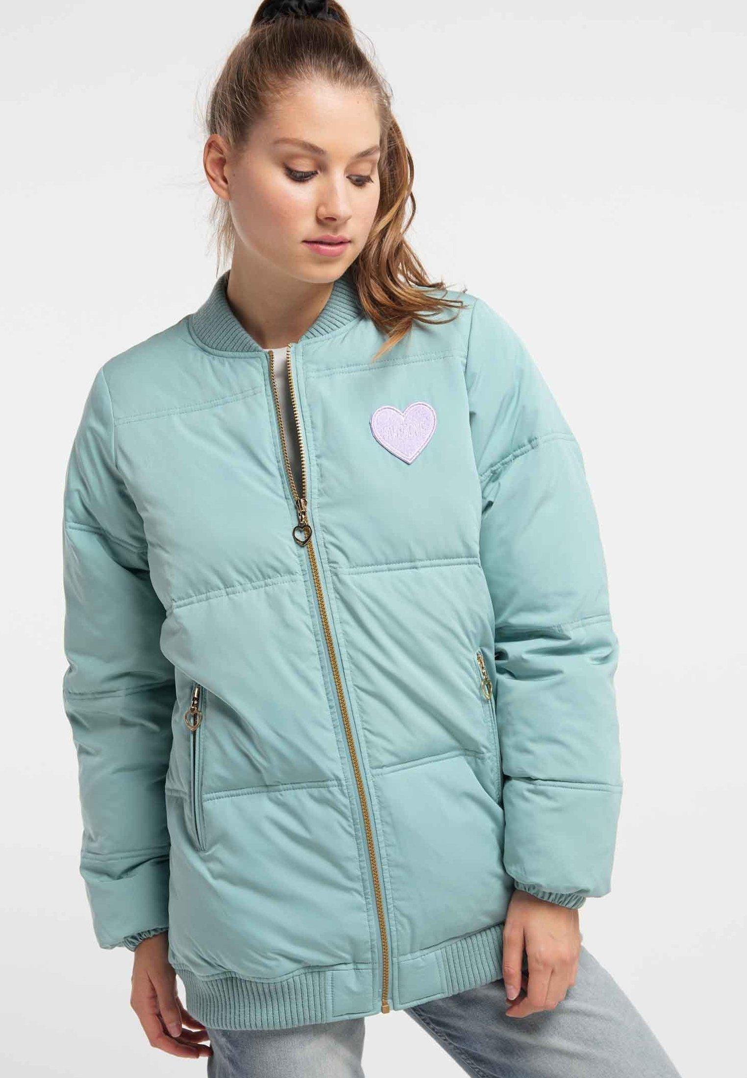 Top-Rated Women's Clothing myMo Winter jacket dark mint fZugLx3aY