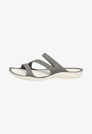 SWIFTWATER - Sandales de bain - smoke/white