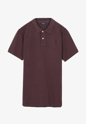 BASIC - Polo - dark burgundy