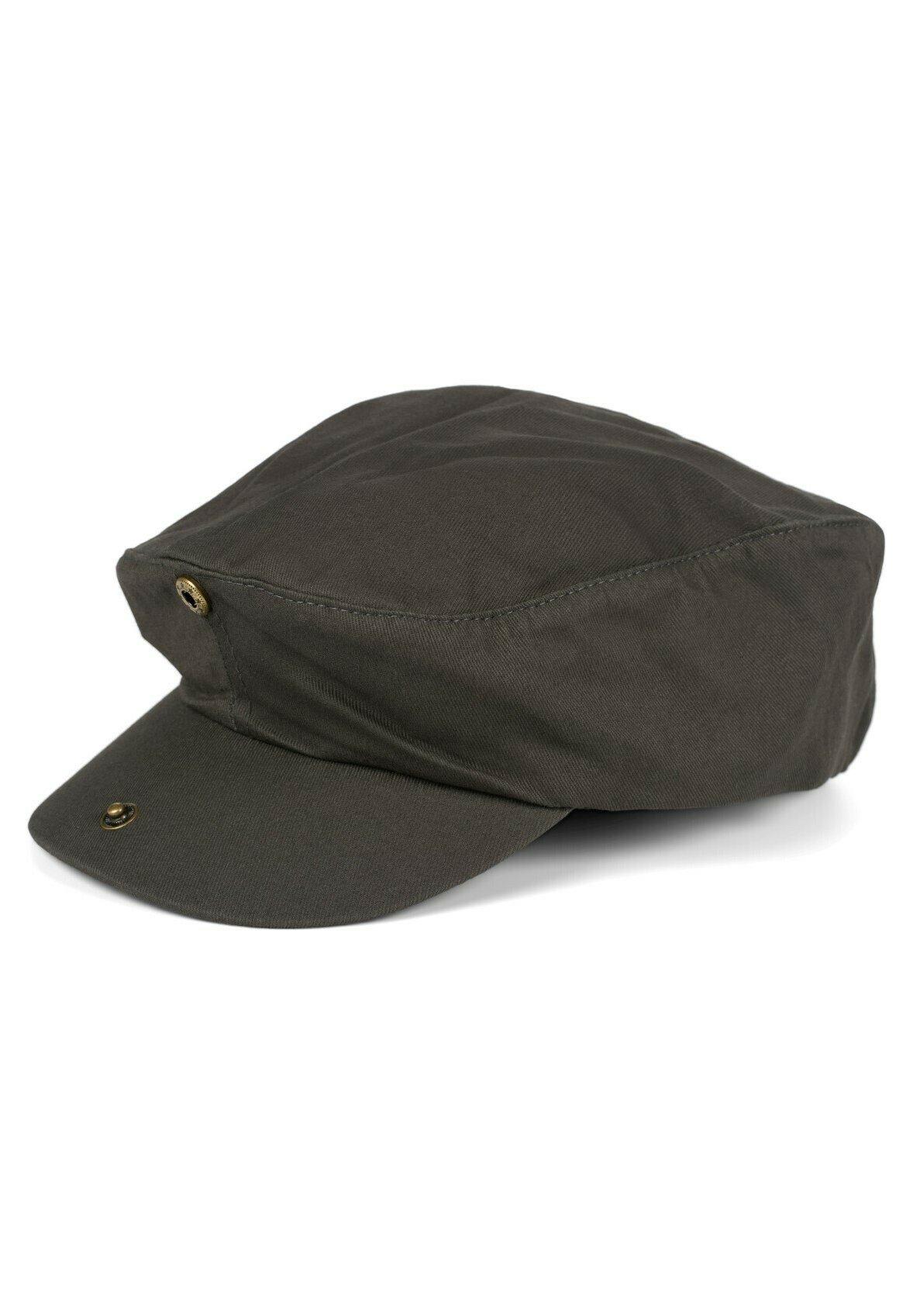 Herren Cabrio einfarbig verstellbar Newsboy - Mütze