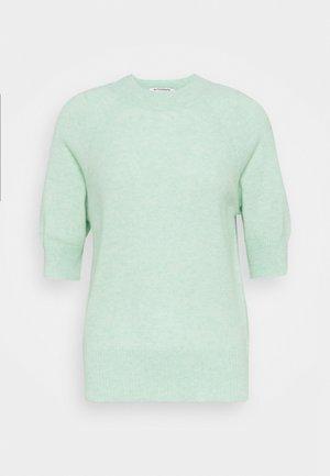 TEXTURED TEE - Jednoduché triko - mint
