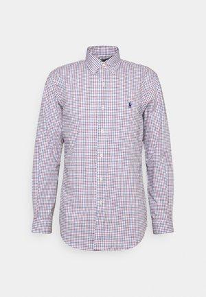 LONG SLEEVE SPORT SHIRT - Shirt - blue/red