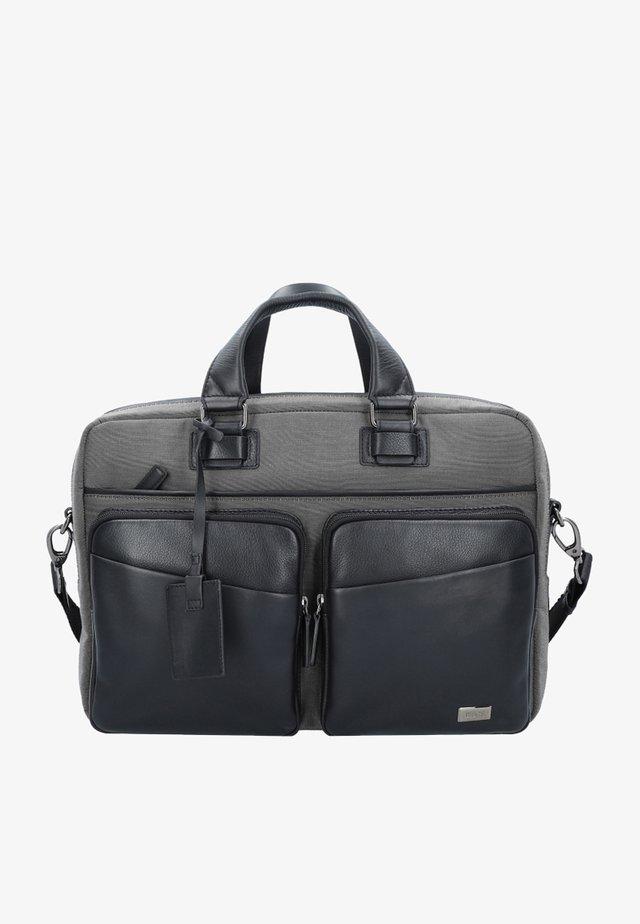 Briefcase - gray / black