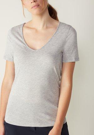 ULTRAFRESH - Pyjama top - grigio melange