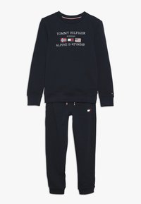 Tommy Hilfiger - BOYS TRACKSUIT SET - Sweatshirt - blue - 0