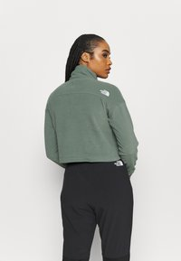 The North Face - GLACIER CROPPED ZIP - Fleece jumper - agave green - 2