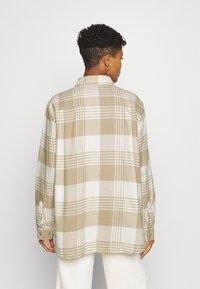 Weekday - BESS - Button-down blouse - beige - 2