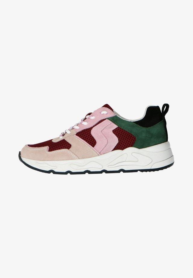 Sneakers laag - bordeauxrot
