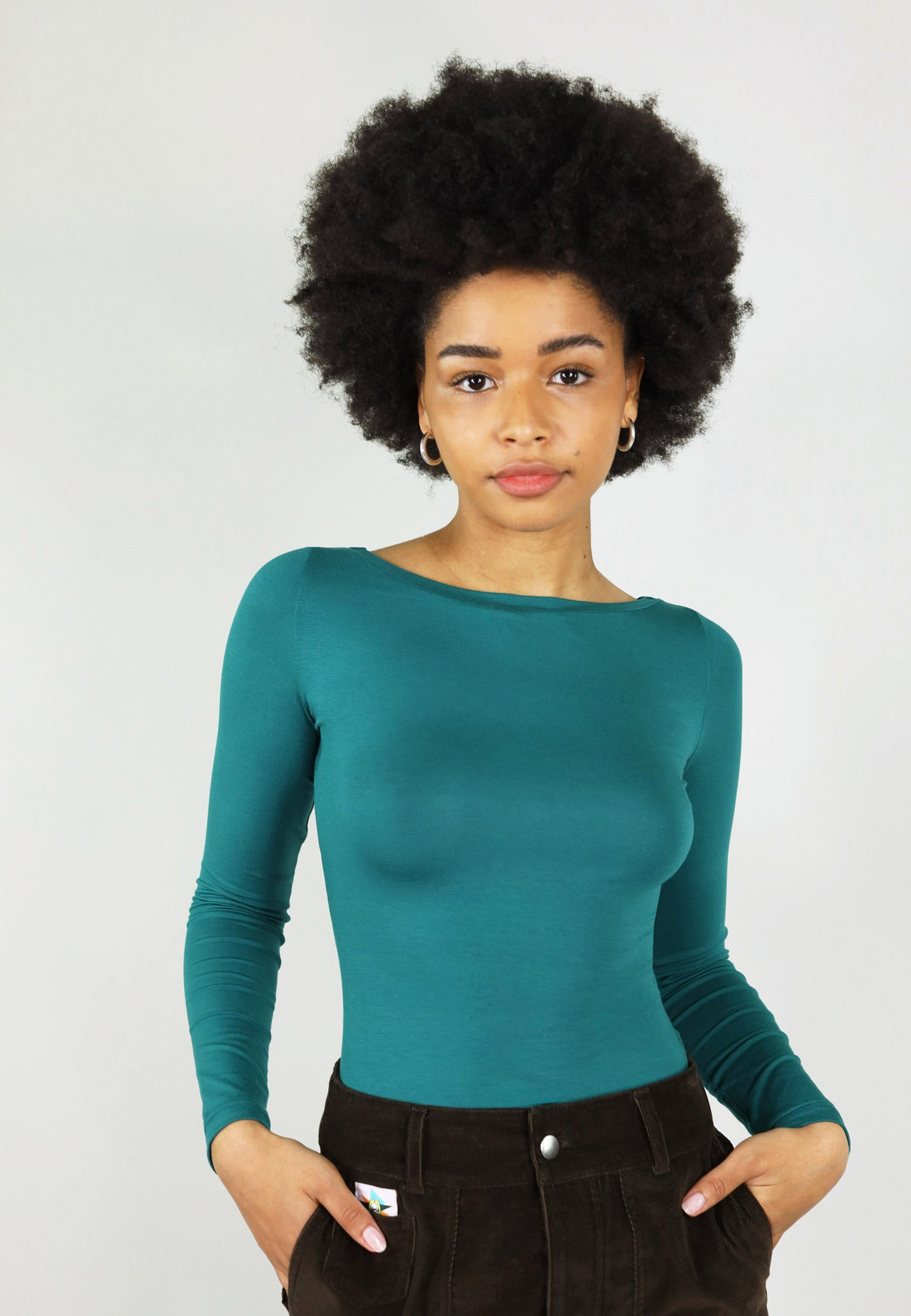 Women WITH TWISTED BACK - Long sleeved top