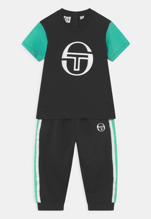 NOVUR BABY SET UNISEX - Tracksuit - anthracite/biscay green