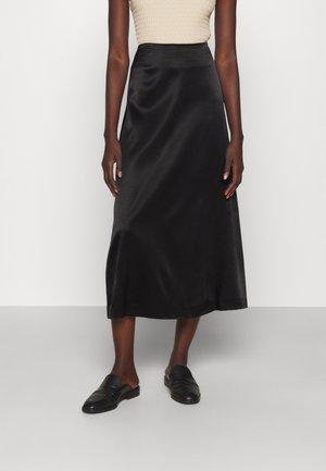 ANGELLO - A-snit nederdel/ A-formede nederdele - black