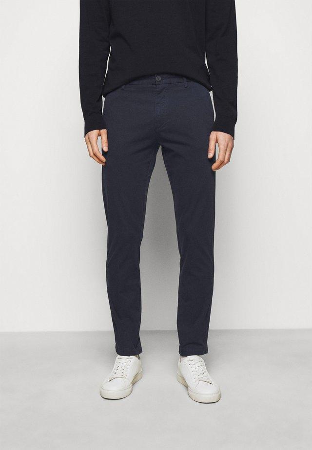 DAVID - Chino kalhoty - dark blue