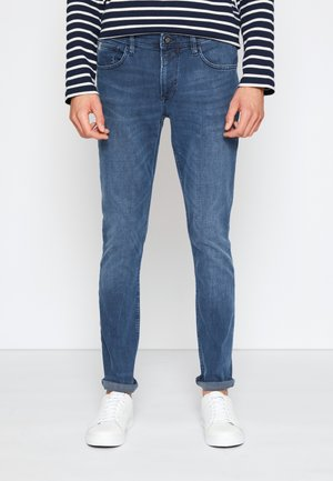 SKINNY CULVER STRETCH - Jeansy Skinny Fit - dark stone blue grey denim