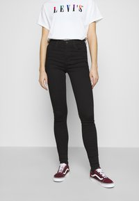 Levi's® - 720 HIRISE SUPER SKINNY - Jeans Skinny Fit - black galaxy - 0