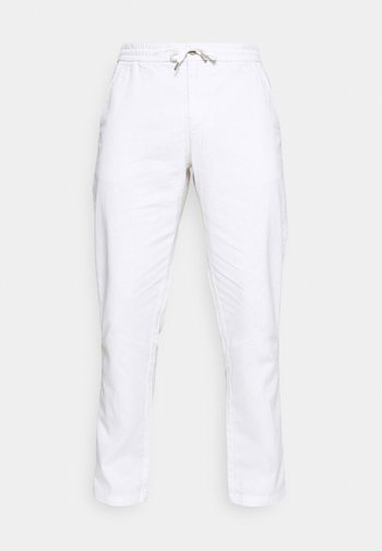 ELASTIC WAIST PANTS - Broek - white