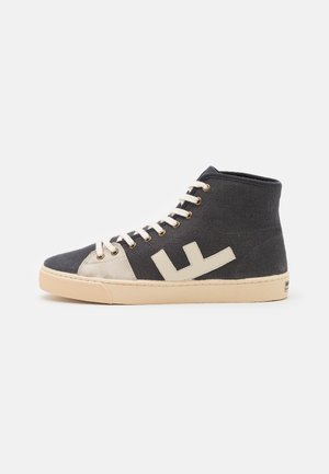 EL CAMINO UNISEX - High-top trainers - asphalt/ivory
