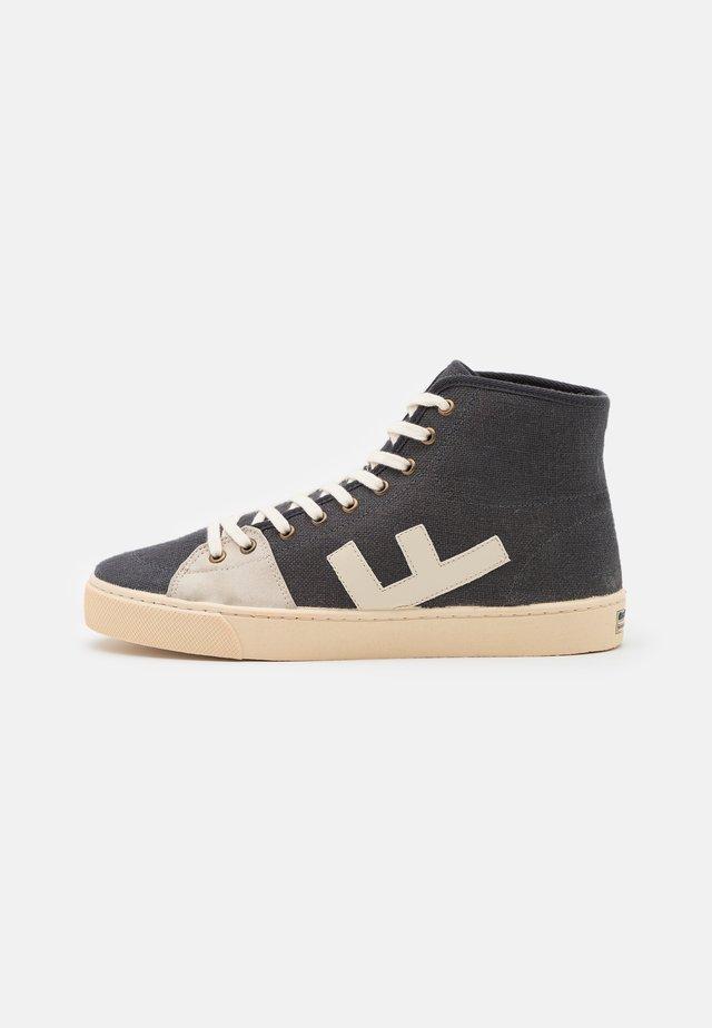 EL CAMINO UNISEX - Sneakers alte - asphalt/ivory