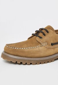 River Island - CHUNKY - Chaussures bateau - brown - 3