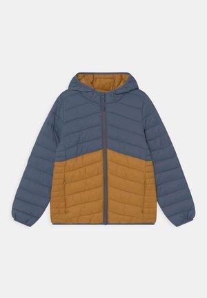 Winterjas - dark blue/orange