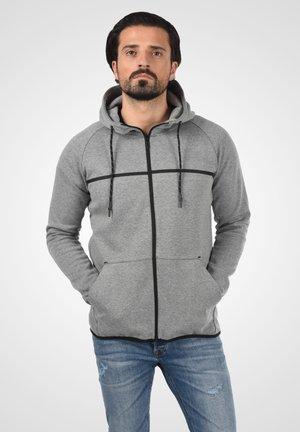 NAGAGAMI - Zip-up sweatshirt - grey mix
