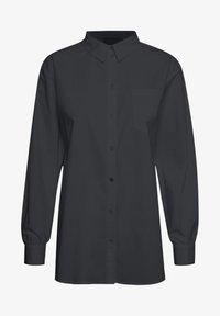 Karen by Simonsen - Button-down blouse - meteorite - 4