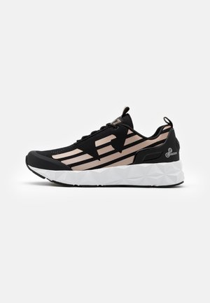UNISEX - Trainers - black/rose gold