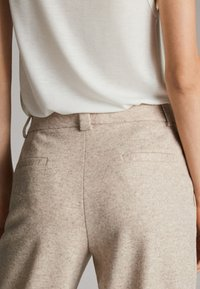 Massimo Dutti - MELIERTE  - Trousers - beige - 6