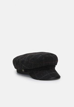 FIDDLER UNISEX - Beanie - black/dark brick