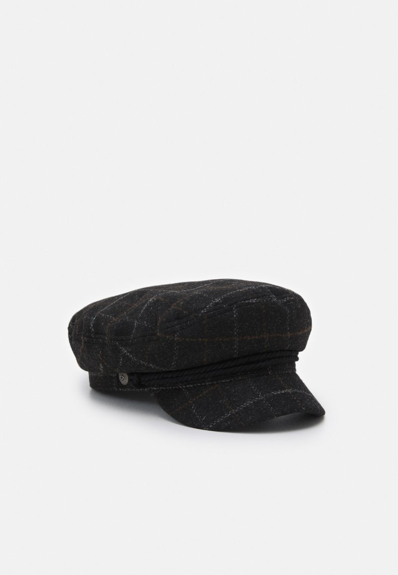 Brixton - FIDDLER UNISEX - Čepice - black/dark brick
