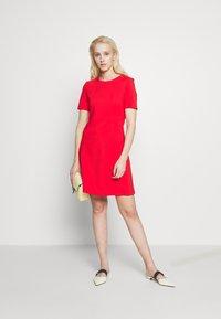 HUGO - NAREI - Jersey dress - red - 1
