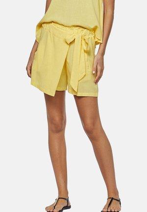 LISOS LINHO - Wrap skirt - yellow