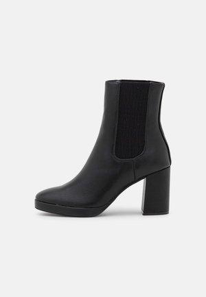 ONLBERRIE HEELED BOOT  - Korte laarzen - black