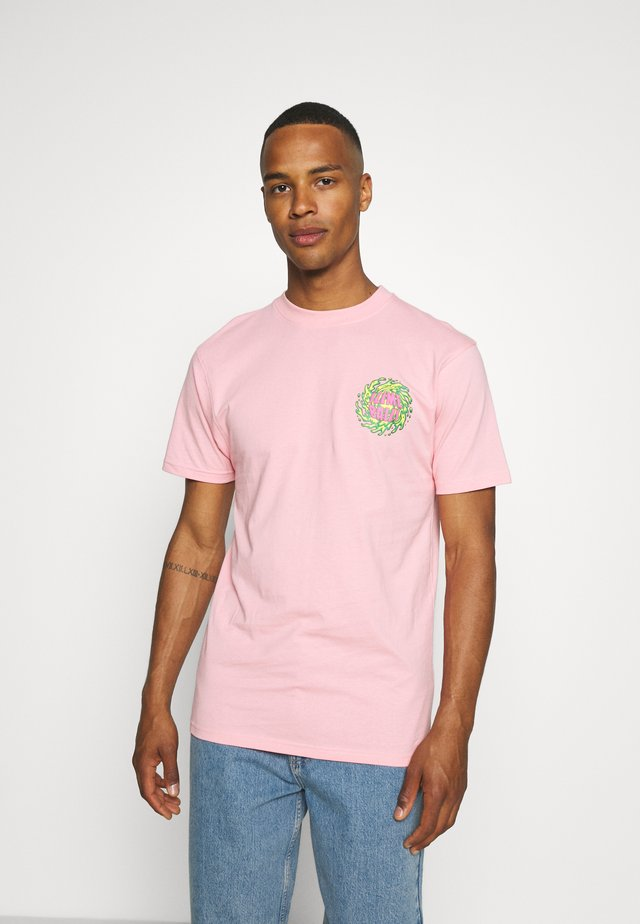 SLIMEBALLS UNISEX - T-shirts med print - pink