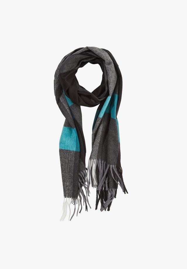 KARO-MIT FRANSEN - Scarf - dark grey stripes