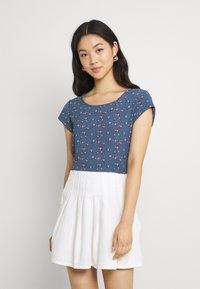 ONLY - ONLNOVA LUX - Camiseta estampada - bering sea - 0