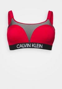 Calvin Klein Swimwear - CURVE BRALETTE PLUS - Bikini top - rustic red - 0