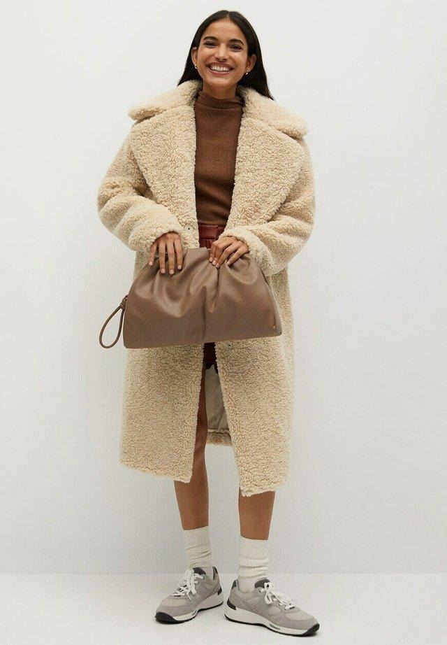 RIZOS - Wollmantel/klassischer Mantel - beige