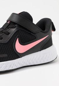 Nike Performance - REVOLUTION 5 - Neutral running shoes - black/sunset pulse - 2