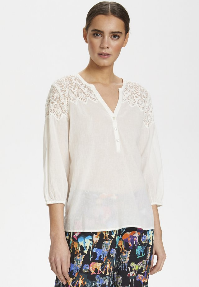 CULTURE CUALIA BLOUSE - Blouse - off-white