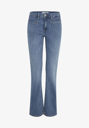 IHERIN HASSE TREND - Bootcut jeans - light blue